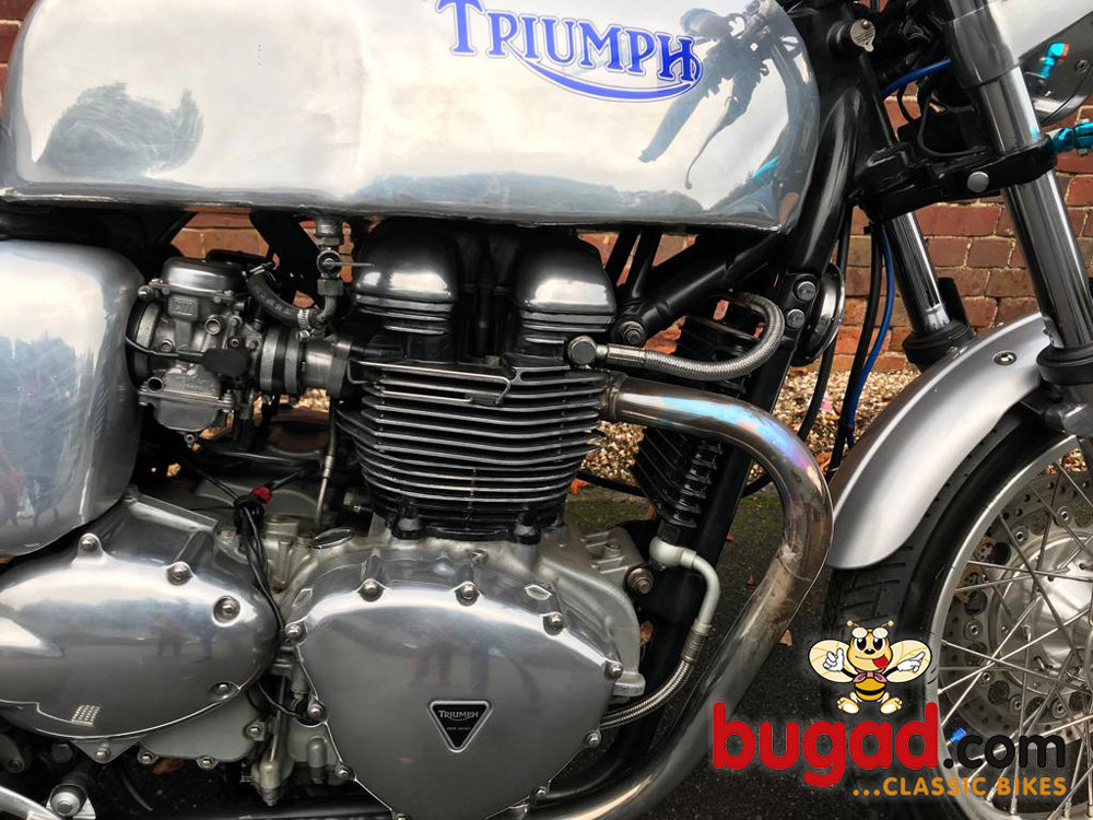 2005 Triumph Thruxton 865cc Cafe Racer Style, Lots of Extras For Sale (picture 6 of 6)
