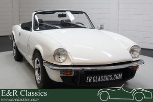 Triumph Spitfire MKIV Cabriolet 1975 in good condition