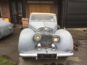 1949 2000 Triumph Roadster Restoration Project