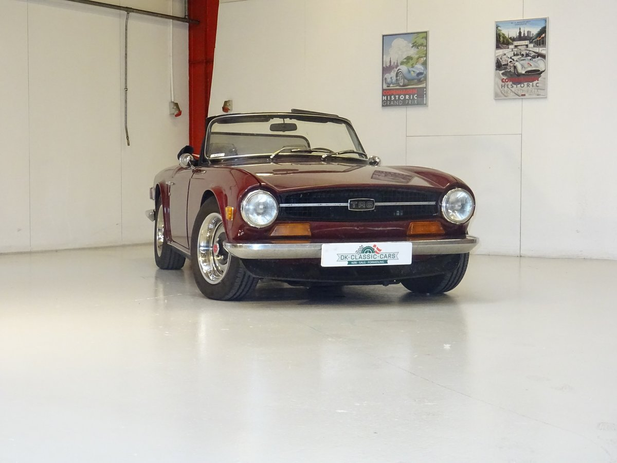 1971 Triumph TR6 For Sale (picture 1 of 6)