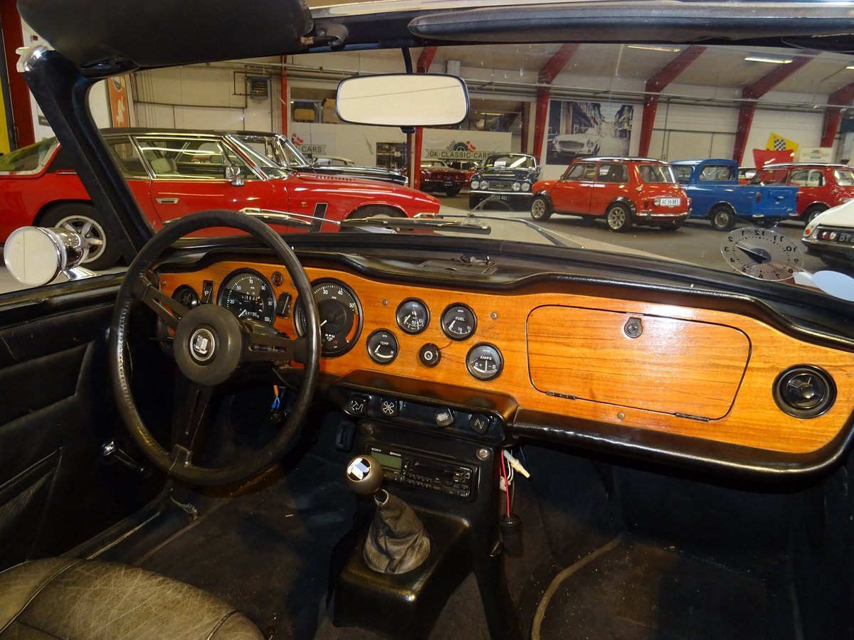 1971 Triumph TR6 For Sale (picture 4 of 6)