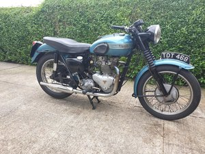 1955 Triumph Tiger 100 all alloy. May take px.