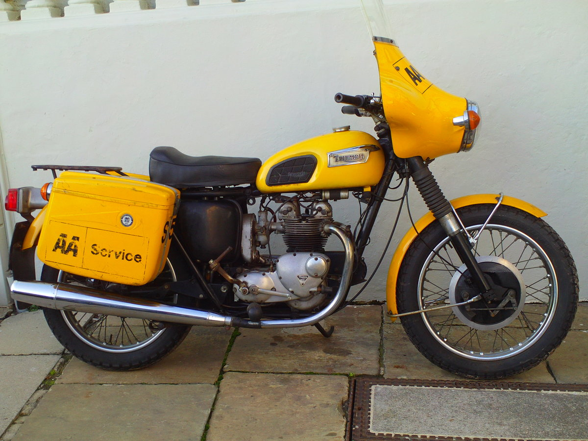 1973 TRIUMPH T100P EX AA SOLD (picture 1 of 6)
