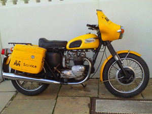 1973 TRIUMPH T100P EX AA SOLD