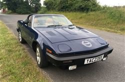 1982 TR7 V8 - Barons Sandown Pk Saturday 26th October 2019