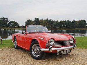 1966 Triumph TR4a IRS  SOLD