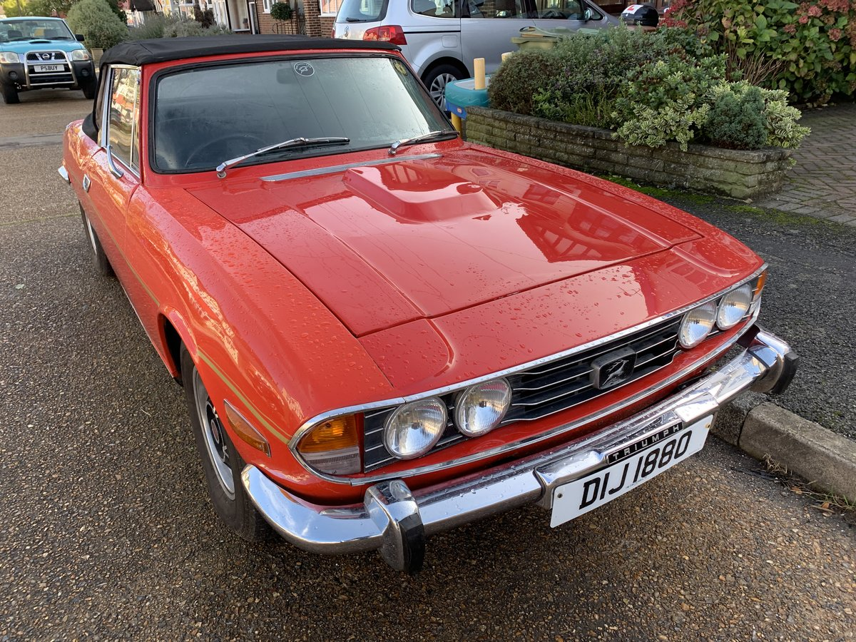 Triumph Stag  1971 manual gearbox GENUINE  MK1   For Sale (picture 6 of 6)