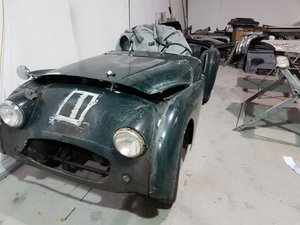1957 Triumph TR3  undergoing full restoration.   For Sale