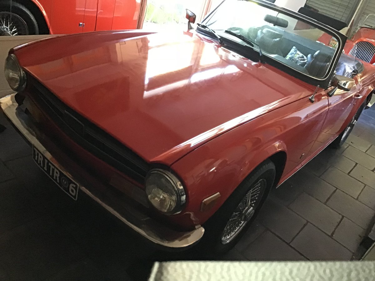 1973 TRIUMPH TR6 48,000 MILE ORIGINAL UK SPECS For Sale (picture 1 of 6)