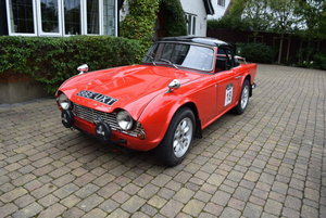 1962 Triumph TR4 Rally Car For Sale by Auction