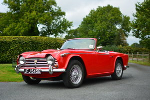 1967 Triumph TR4a IRS For Sale by Auction