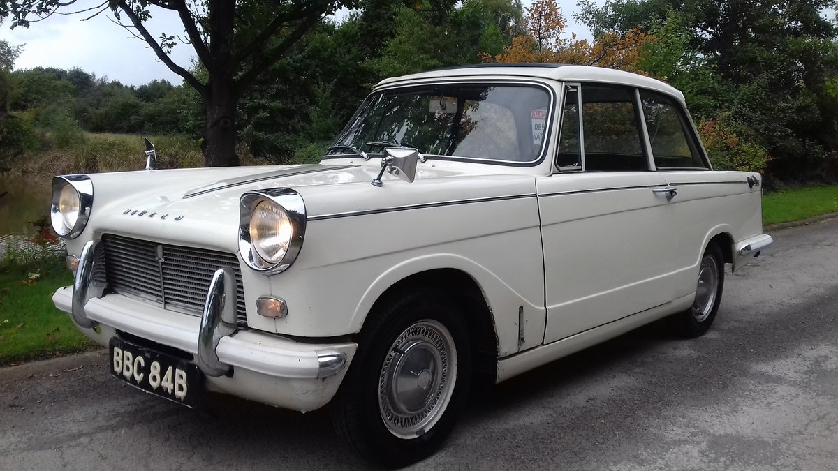 1964 TRIUMPH HERALD 12/50 SALOON ~ ORIGINAL & 1 FAMILY OWNED SOLD (picture 2 of 6)