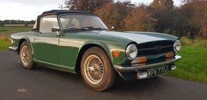 1971/J TRIUMPH TR6 CP 150 MANUAL O/D GREEN SOLD