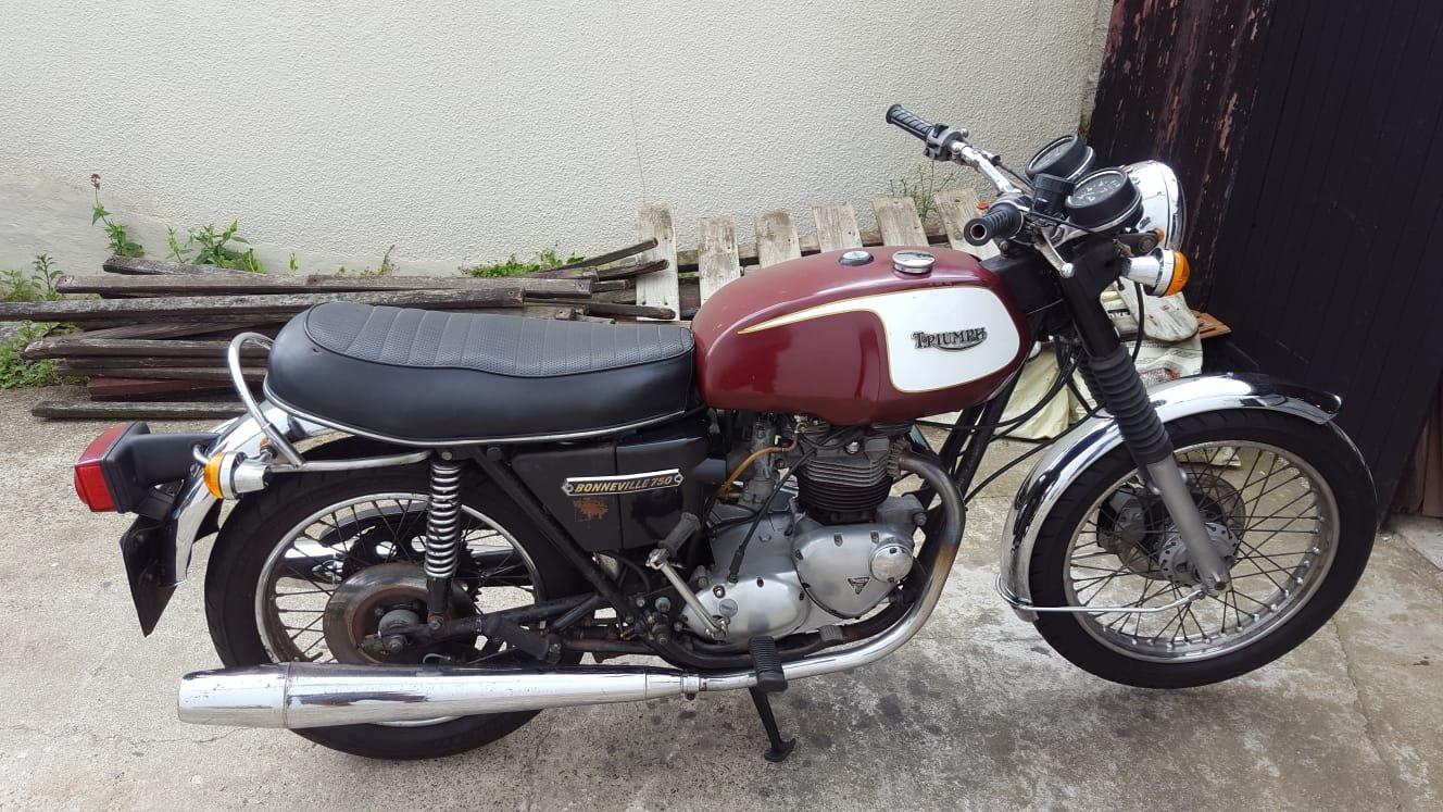 1978 Triumph Bonneville T140v For Sale (picture 1 of 6)