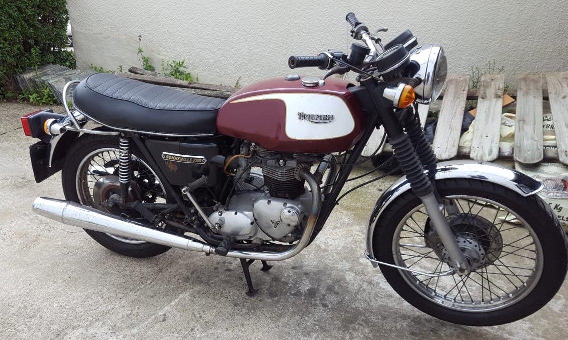 1978 Triumph Bonneville T140v For Sale (picture 4 of 6)