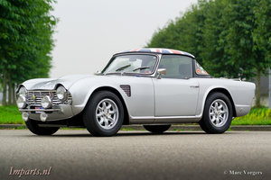 """Excellent Triumph TR4 """"Works"""" rally car  LHD"""