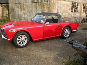 TRIUMPH TR250 /5  built 17  October 1967 For Sale