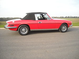 1976 TRIUMPH STAG MK2 MANUAL O/D ONE OF THE VERY BEST YOU CAN BUY For Sale