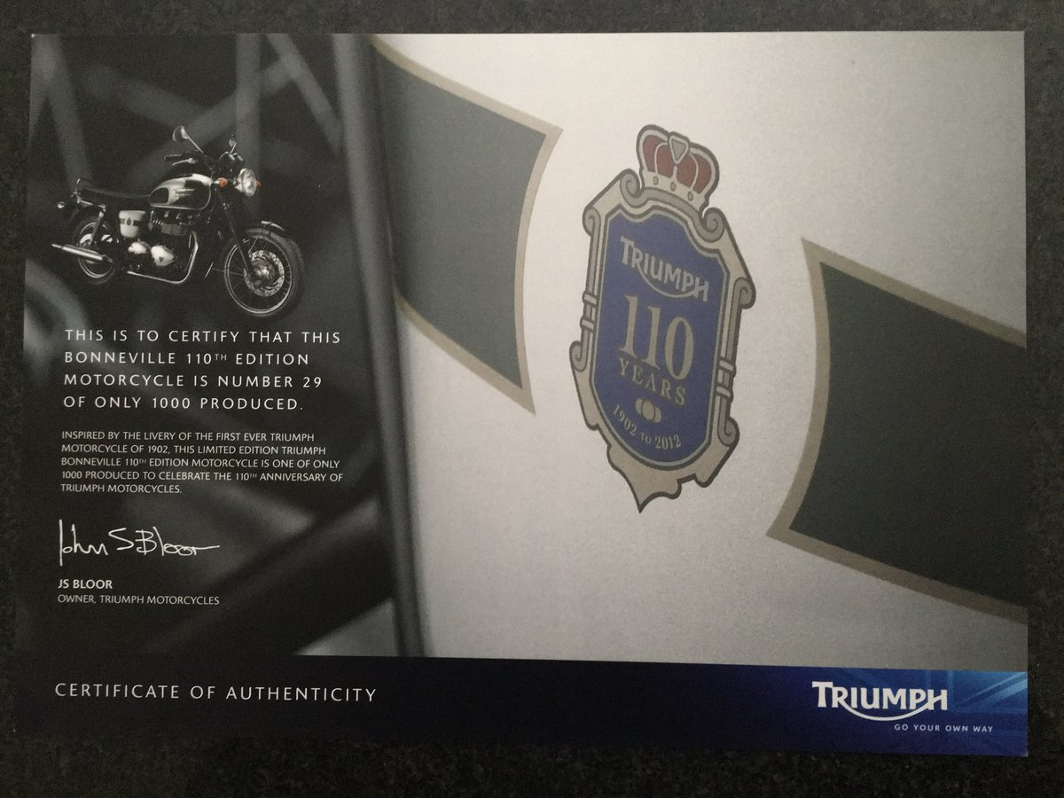 2012 Triumph Bonneville T100 SOLD (picture 5 of 6)