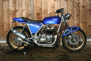 1968 Triumph Metisse-framed flat/street tracker For Sale