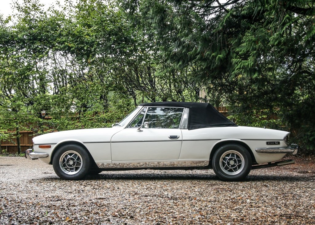 1976 Triumph Stag SOLD by Auction (picture 1 of 6)