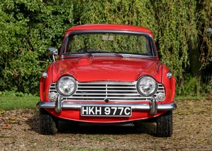 1965 Triumph TR4A IRS (Surrey Top) SOLD by Auction