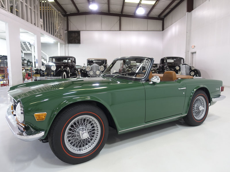 1971 Triumph TR-6 Roadster For Sale (picture 1 of 6)