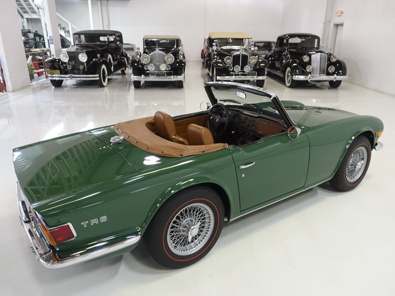 1971 Triumph TR-6 Roadster For Sale (picture 2 of 6)
