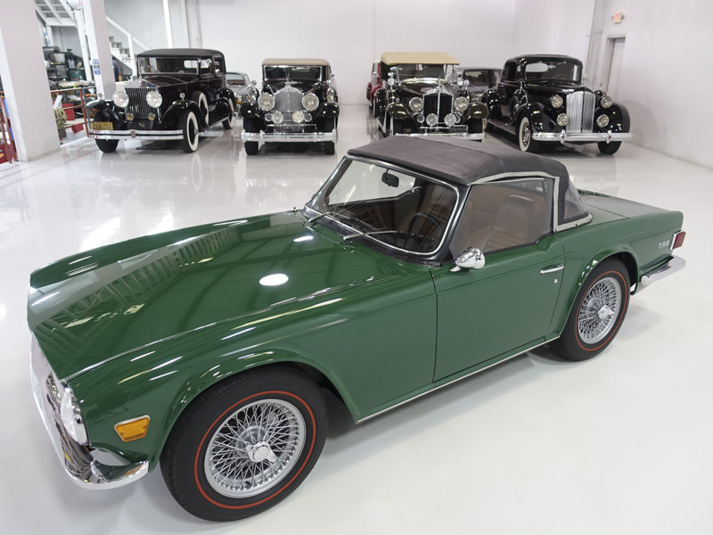 1971 Triumph TR-6 Roadster For Sale (picture 3 of 6)