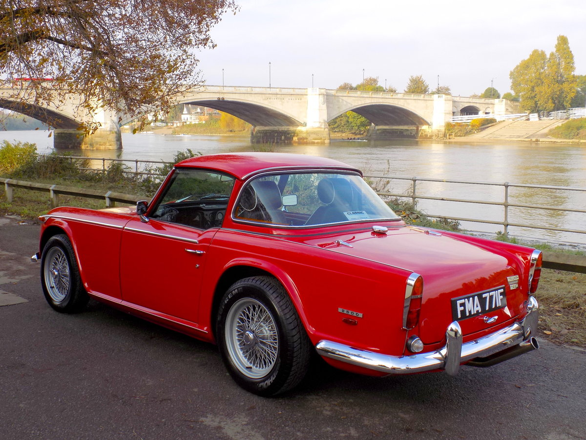 1968 TRIUMPH TR250 (TR5 SPEC) - NEAR CONCOURS CONDITION SOLD (picture 2 of 6)