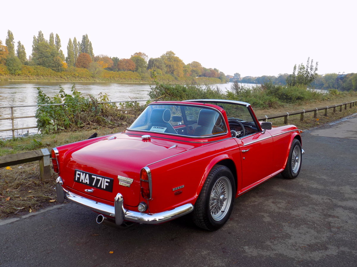 1968 TRIUMPH TR250 (TR5 SPEC) - NEAR CONCOURS CONDITION SOLD (picture 5 of 6)