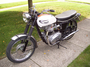 Triumph Bonneville T120R (1 owner 1966-2015) For Sale