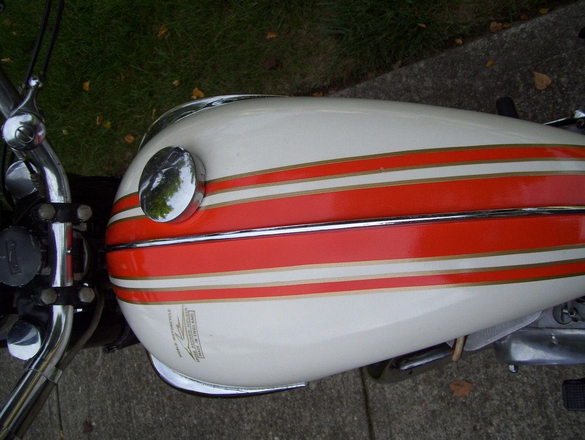 Triumph Bonneville T120R (1 owner 1966-2015) For Sale (picture 6 of 6)