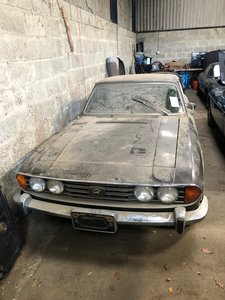 1971 Triumph Stag - LHD Project