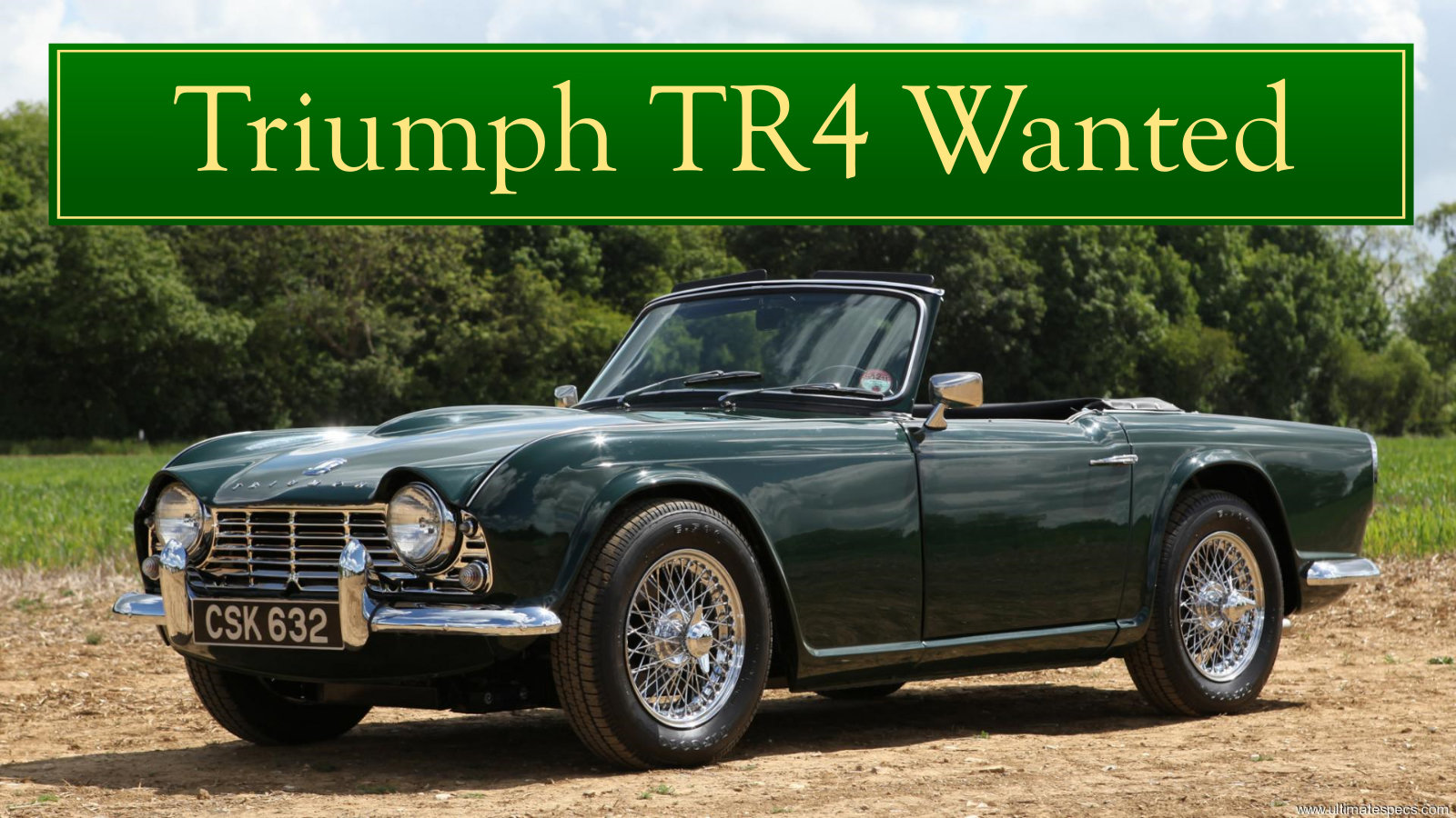1956 TRIUMPH TR3 WANTED, CLASSIC CARS WANTED, QUICK PAYMENT Wanted (picture 3 of 6)