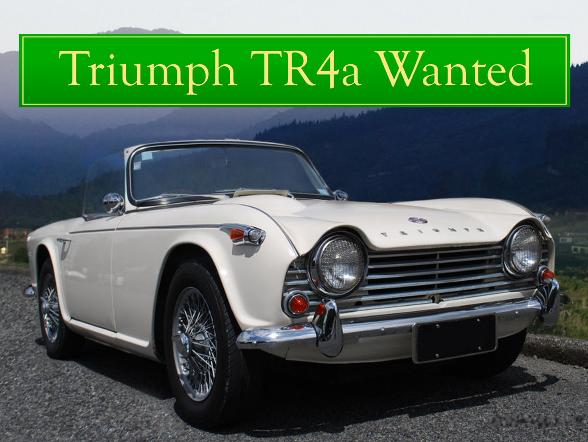 1956 TRIUMPH TR3 WANTED, CLASSIC CARS WANTED, QUICK PAYMENT Wanted (picture 4 of 6)