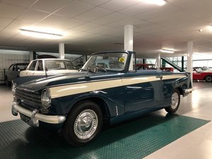 1968 Triumph Herald 13/60 Convertible SOLD