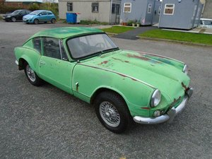 1968 TRIUMPH GT6 2.0 MK1 LHD COUPE US IMPORT! SOLID  For Sale