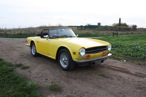 TR6 1974 ORIGINAL UK FUEL INJECTED CAR WITH OVERDRIVE SOLD (picture 1 of 6)