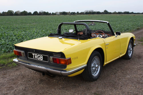 TR6 1974 ORIGINAL UK FUEL INJECTED CAR WITH OVERDRIVE SOLD (picture 4 of 6)
