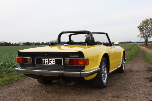 TR6 1974 ORIGINAL UK FUEL INJECTED CAR WITH OVERDRIVE SOLD (picture 6 of 6)