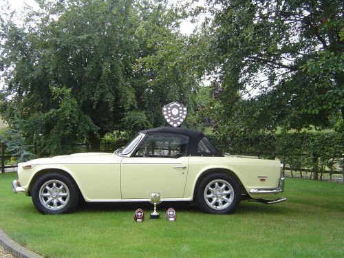 1969 CONCOURS CONDITION TR5  For Sale (picture 2 of 6)