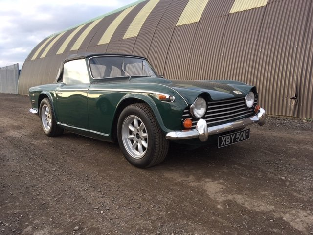 1968 Triumph TR 250 For Sale by Auction (picture 2 of 6)