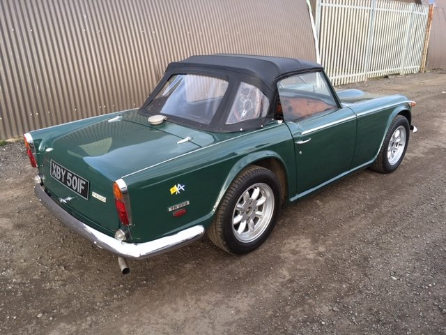 1968 Triumph TR 250 For Sale by Auction (picture 4 of 6)