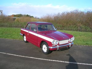 1965 Triumph Vitesse Historic Vehicle  For Sale