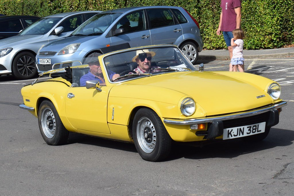 1973 TRIUMPH SPITFIRE MkIV 1296cc. O/DRIVE. YELLOW 42K MILES For Sale (picture 5 of 5)