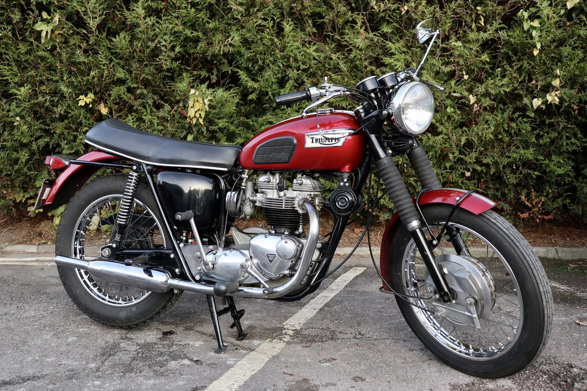 1968 Triumph TR6R Trophy 650cc  For Sale (picture 1 of 6)