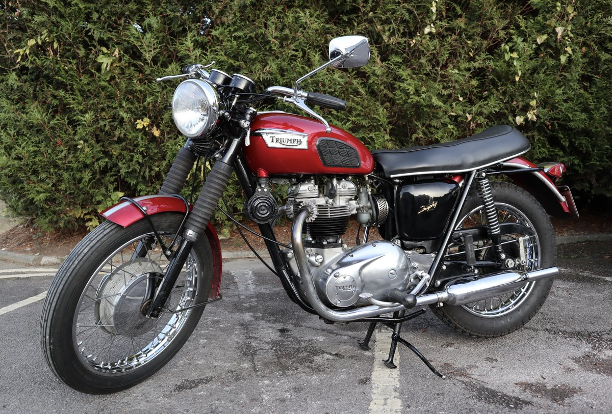 1968 Triumph TR6R Trophy 650cc  For Sale (picture 2 of 6)