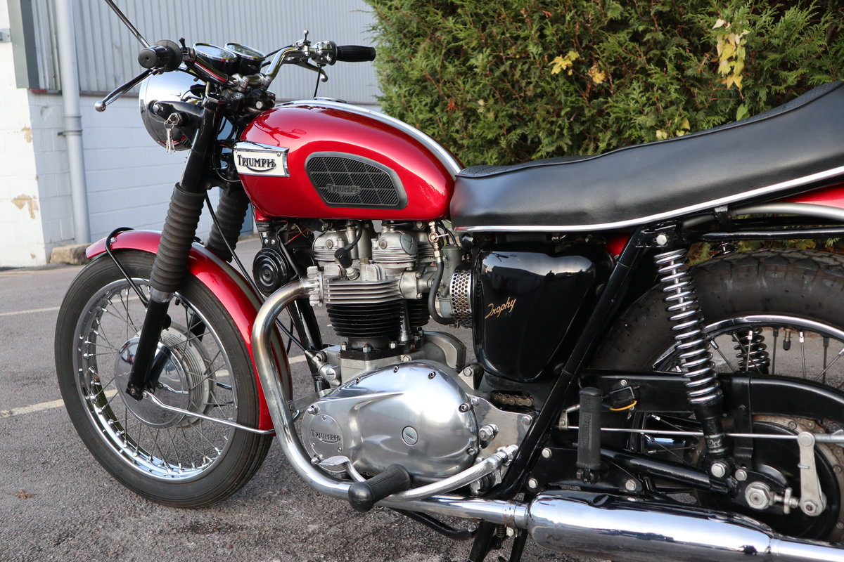 1968 Triumph TR6R Trophy 650cc  For Sale (picture 6 of 6)