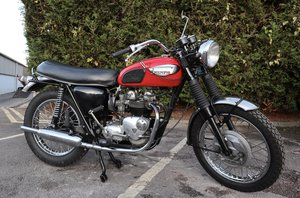 Picture of 1971 Triumph T100R Daytona 500cc Matching Number SOLD